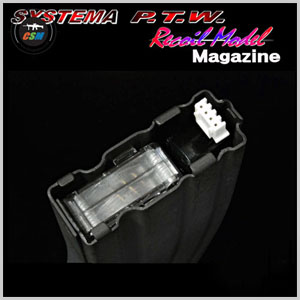 [2016 NEW] SYSTEMA Magazine for PTW M4A1 Recoil 전동건 (완제품)(6 pcs Pack)